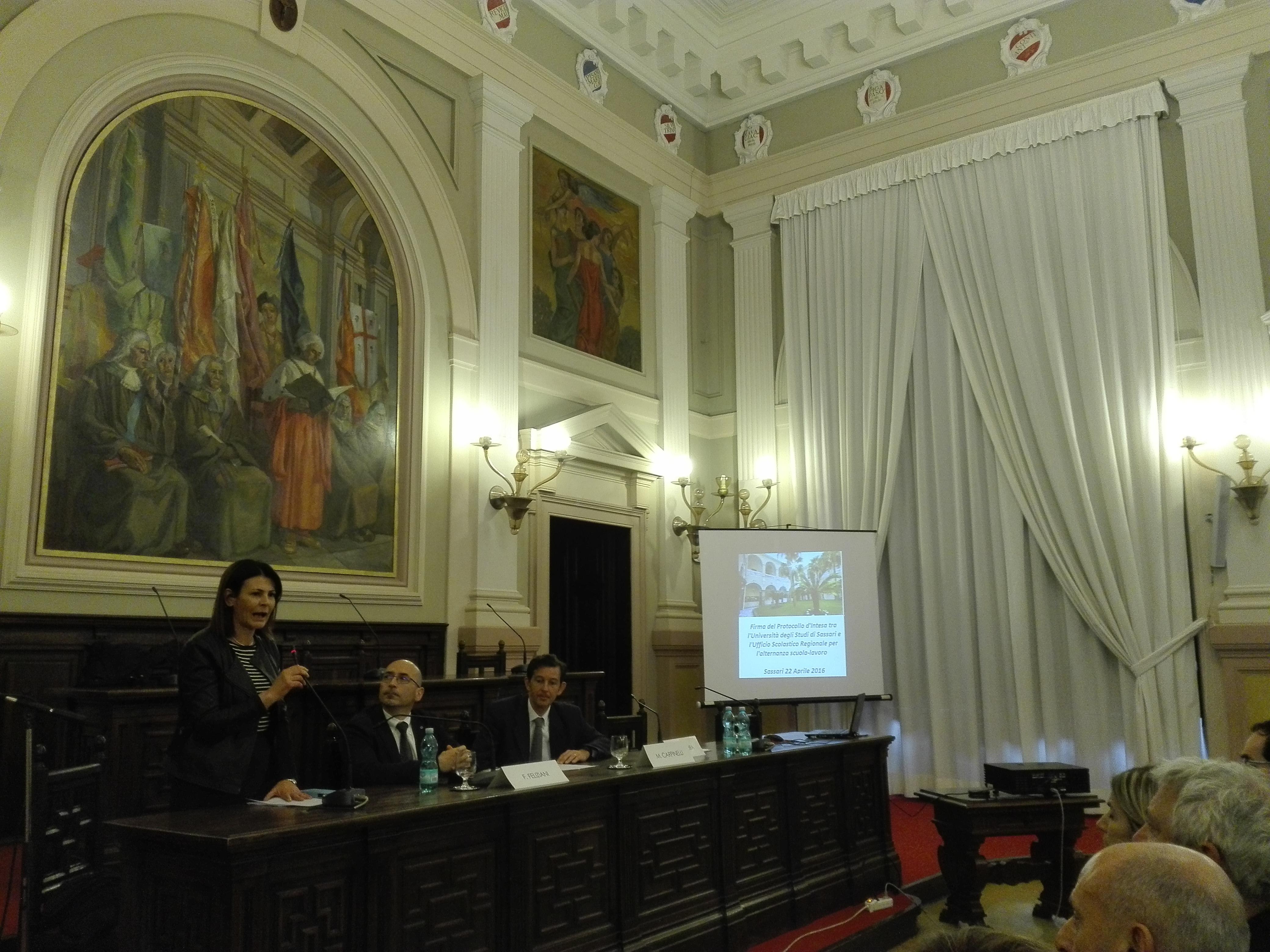 Ufficio Lavoro Ozieri : Firmato il protocollo dintesa per lalternanza scuola lavoro