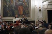 Il Rettore Massimo Carpinelli e il Maestro Beatrice Venezi