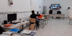 Aula didattica informatizzata Casa reclusione Alghero - Inaugurazione - Pup Uniss
