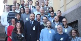 CERBERO, kick-off meeting all'Università di Sassari_Da sinistra Katiuscia Zedda, Francesca Palumbo e Michael Masin