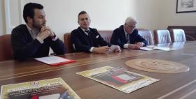 Conferenza stampa I edizione Premio letterario Memoria storica torresina_Andrea Sini, Salvo Mura e Tore Matta