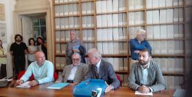 Presentazione archvio Segni con Massimo Carpinelli, Mario Segni, Salvatore Mura, Manlio Brigaglia, Marco Milanese