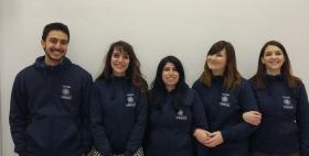 Squadra Giurisprudenza Uniss per VI Competizione italiana di mediazione