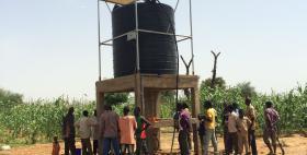 Stazione per la fornitura di acqua in Burkina Faso (progetto di cooperazione dell'Università di Sassari)