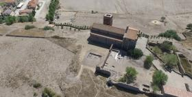 Scavi archeologici a S. Antioco di Bisarcio_Uniss_2016_Vista dal drone
