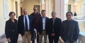Delegazione dell'Università Peruana Toribio Rodriguez