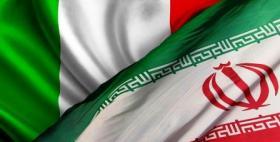 Italy Iran flag