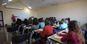 Una classe al lavoro_Università di Sassari