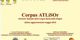 ATLiSOr_Archivio Testuale della Lingua Sarda delle Origini_Università di Sassari