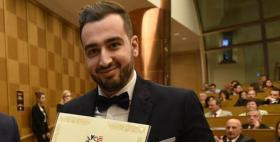 Ivan Raspitzu, laureato Università di Sassari premiato alla camera dei Deputati