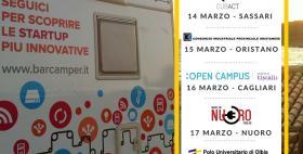 Evento di scouting per start up innovative Cipnes Barcamper Campus, Università di Sassari 14 marzo 2016