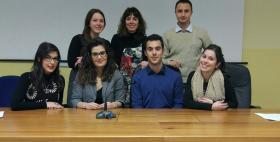Team dell'Università di Sassari vincitore del campionato nazionale di mediazione 2017