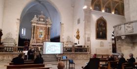 Cattedrale di San Nicola_Presentazione del monumento sepolcrale del conte di Moriana