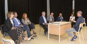 Commissione di laurea dell'Università di Sassari nella casa di reclusione di Tempio-Nuchis