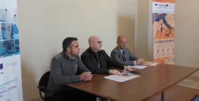 Daniele Doro (Art Lab Net), Antonio Bisaccia (Accademia Sironi), Gabriele Mulas (Università di Sassari)