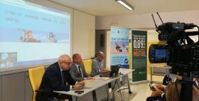 Conferenza stampa Start Cup Sardegna e Fri_Start Cup 2018_Da sx Giuseppe Cuccurese, Gabriele Mulas e Luca Deidda