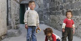Bambini per strada