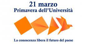 21 marzo Primavera dell'Università_Logo CRUI