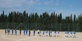 Calciatori in campo