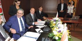 Beirut, il Rettore Massimo Carpinelli firma la convenzione con la Lebanese University