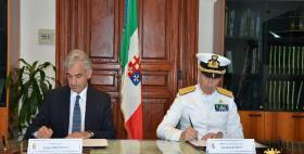 La Maddalena, firma dell'accordo tra Università di Sassari e Marina militare