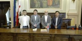 Università di Sassari e Università di Chachapoya_Firma dell'accordo in aula magna