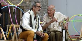 Yona Friedman e Jean Baptiste Decavèle_Foto di Gino di Paolo