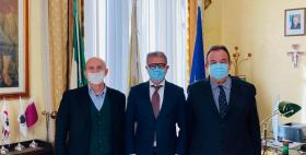 Aldo Carta, Settimo Nizzi, Gavino Mariotti_Foto da www.olbianotizie.it