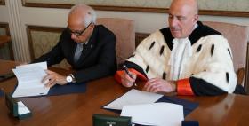 Gennaro Vecchione e Massimo Carpinelli