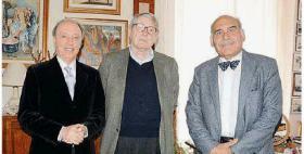 Giuseppe Madeddu, Giulio Rosati e Giovannino Massarelli