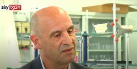 Ignazio Floris, Università di Sassari, su Sky Tg 24