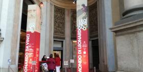 Il mondo di Leonardo_Leonardo 3, Milano (foto: ufficio stampa Università di Sassari)