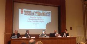 Massimo Carpinelli, Rettore Uniss, a Parigi per l'Assemblea generale Unimed 2017