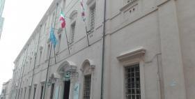 Il palazzo centrale dell'Università di Cagliari