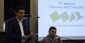 Rappresentanti degli studenti alla Primavera Università di Sassari