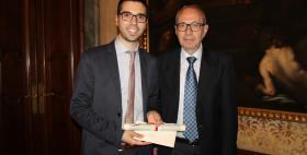 """Ivan Fois, laureato Uniss, riceve a Milano il premio """"Giovanni Marra"""""""