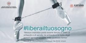 Lotta alla tratta degli esseri umani_Libera il tuo sogno_Università di Sassari 6 novembre 2018