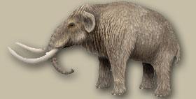 Riproduzione del mammut sardo, vista dall'artista australiano MiloOryx