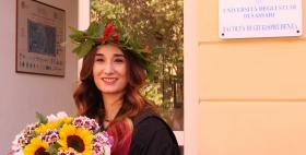 Maria Sanna laureata Università di Sassari
