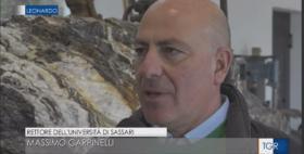 Il Rettore dell'Università di Sassari Massimo Carpinelli su TGR Leonardo