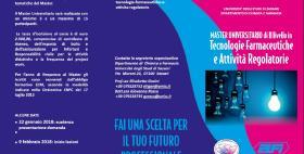 Master di II livello in Tecnologie farmaceutiche 2017-2018_brochure