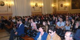 L'aula magna dell'Università di Sassari