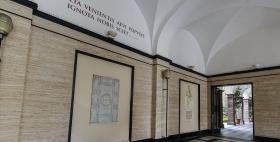 Multa venientis aevi populus ignota nobis sciet_Ingresso dell'Università di Sassari