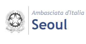 Logo Ambasciata italiana a Seoul