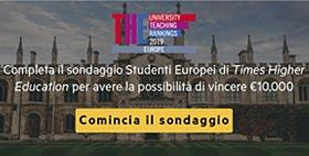 Questionario Times Higher Education