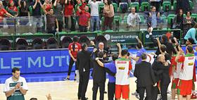 Foto partita Dinamo Banco di Sardegna