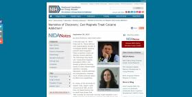 Sito web del National Institute on Drug Abuse