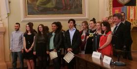 I vincitori del Premio Farace 2017_Premiazione nell'aula magna dell'Università di Sassari