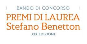 Premi per tesi di laurea Stefano Benetton, XIX edizione