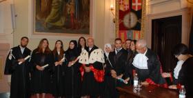 Primi 9 laureati Sardegna ForMed all'Università di Sassari, 18 luglio 2017